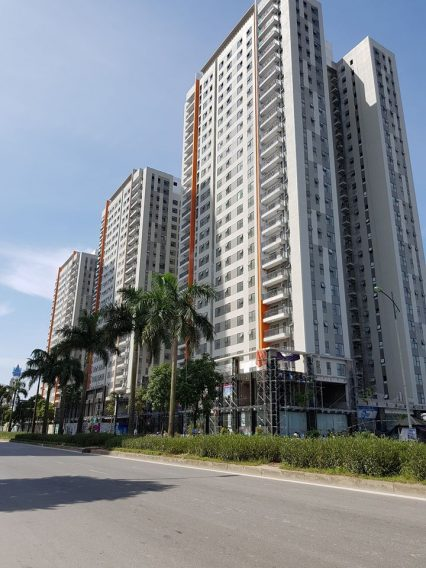 Dự án The K Park Văn Phú đang trong giai đoạn hoàn thiện