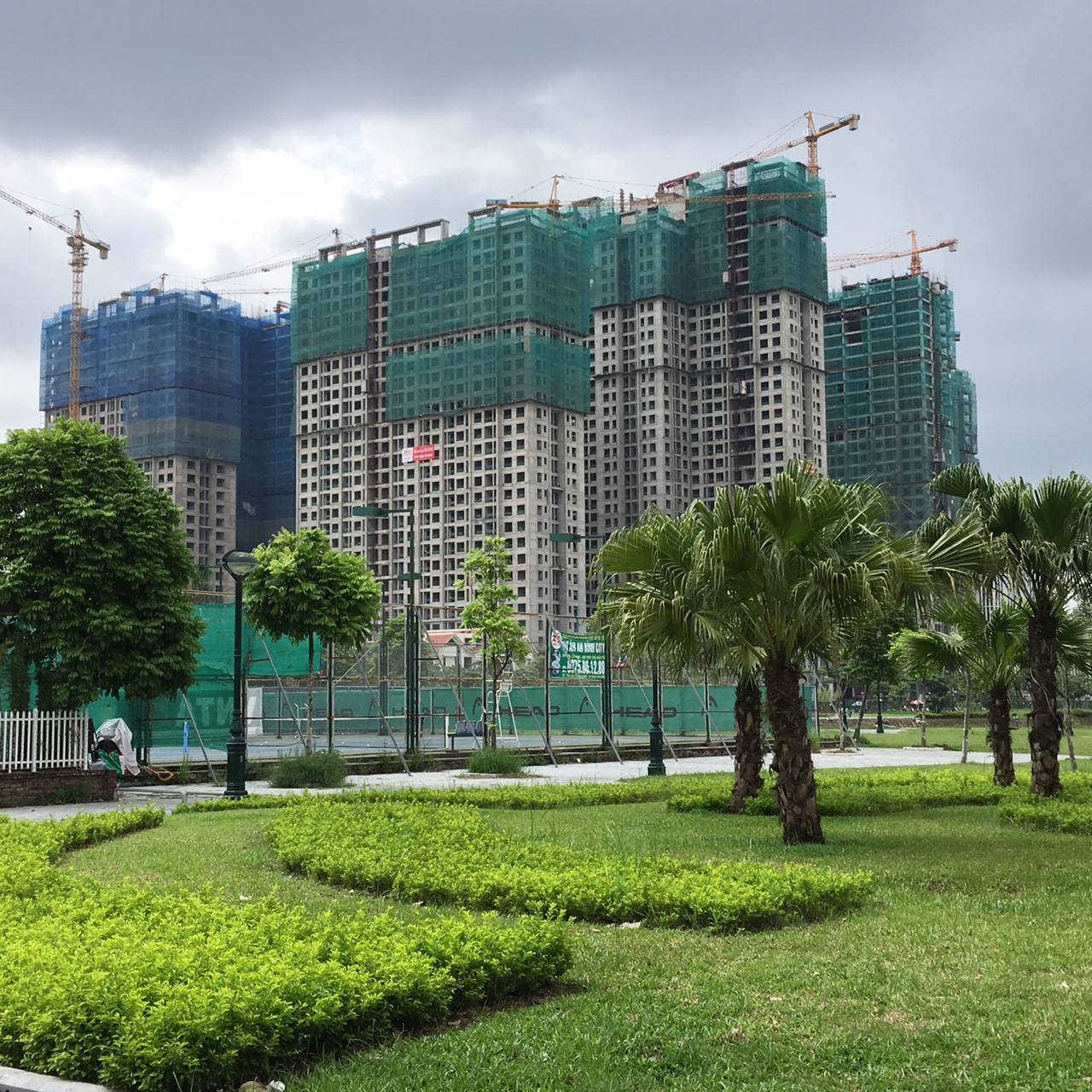 Tiến độ chung cư An Bình City tháng 10-2017