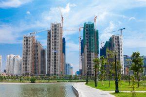 Toàn bộ dự án An Bình City đã được cất nóc