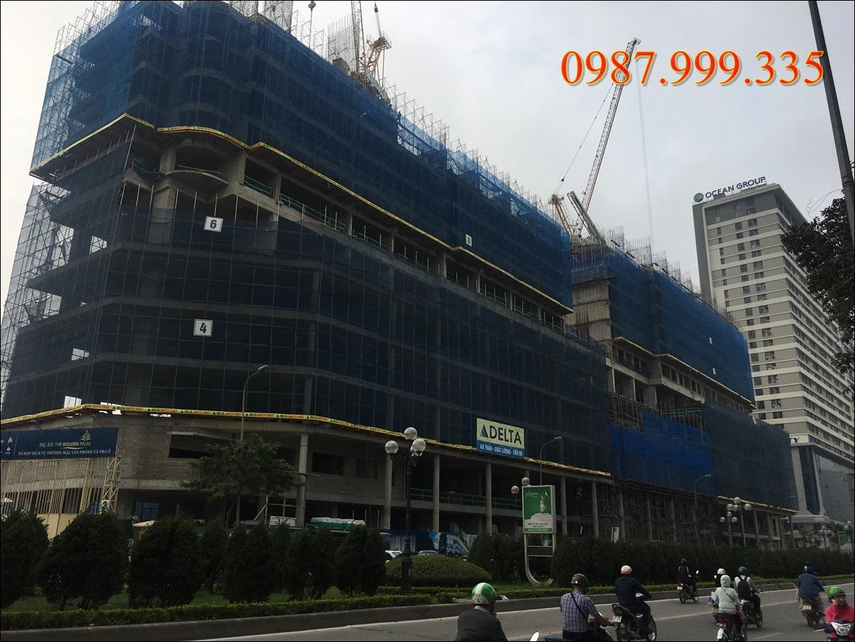 tiến độ chung cư golden palm tháng 04-2017 (2)