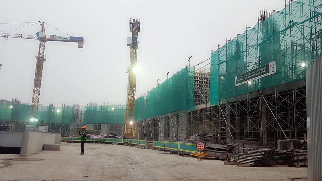 tiến độ dự án ct8 mỹ đình tháng 12-2017