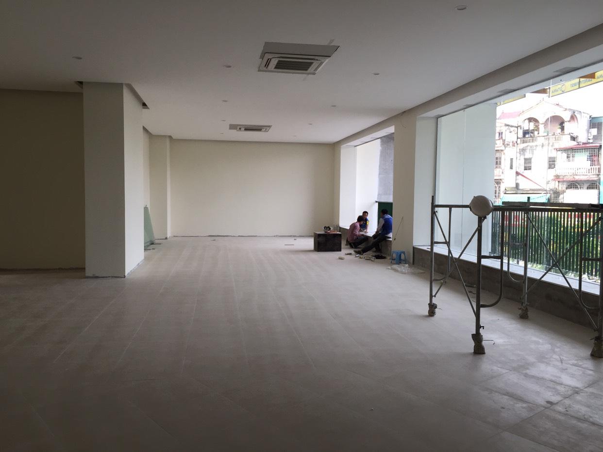 Sảnh TTTM tầng 2 tại dự án Samsora Chu Văn An Hà Đông