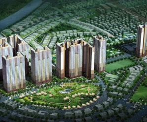 Tiến độ tòa CT07 dự án Booyoung Vina tháng 10 năm 2017