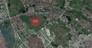 Vị trí TTTM AEON MALL Hà Đông