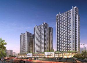 Phối cảnh tổng quan chung cư K Park Văn Phú