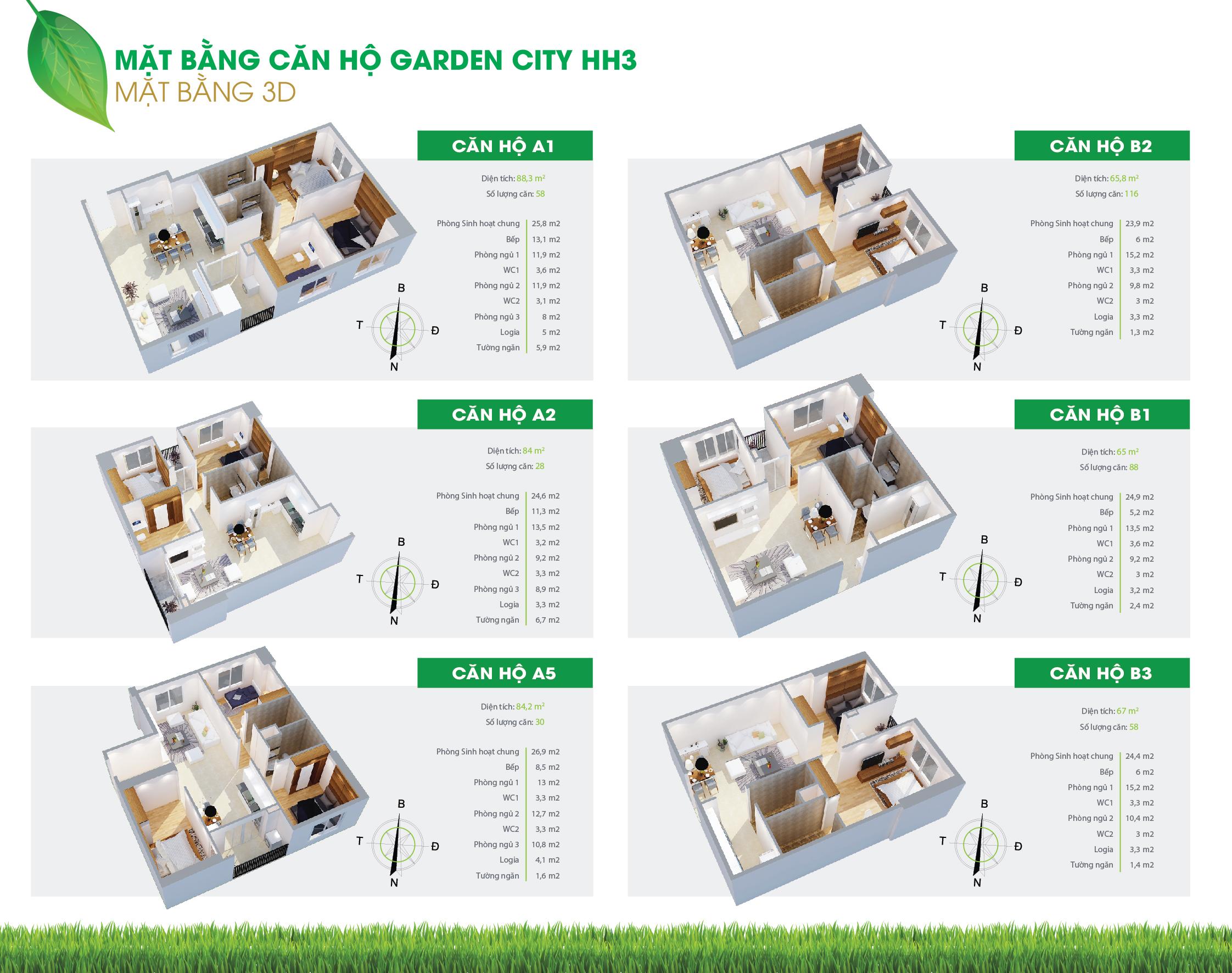 Thiết kế căn hộ hh3 flc đại mỗ (1)
