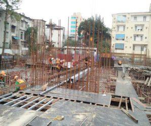 Tiến độ dự án chung cư Green Pearl 378 Minh Khai tháng 01/2018