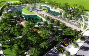 Công viên âm nhạc tại KĐT Dương Nội