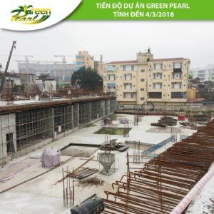 Tiến độ dự án Green Pearl 378 Minh Khai tháng 3 (1)