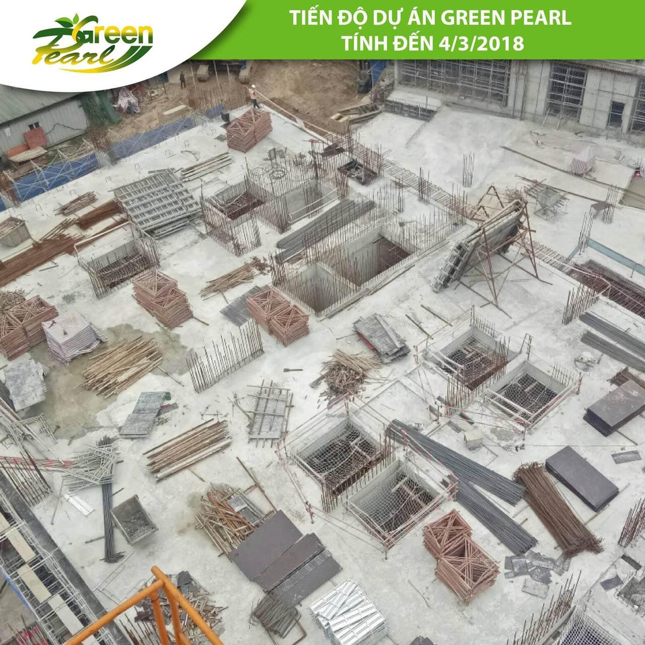 Tiến độ dự án Green Pearl 378 Minh Khai tháng 3 (3)