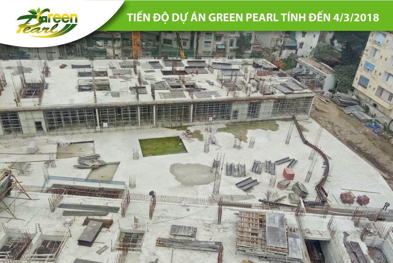 Tiến độ dự án Green Pearl 378 Minh Khai tháng 3 (4)