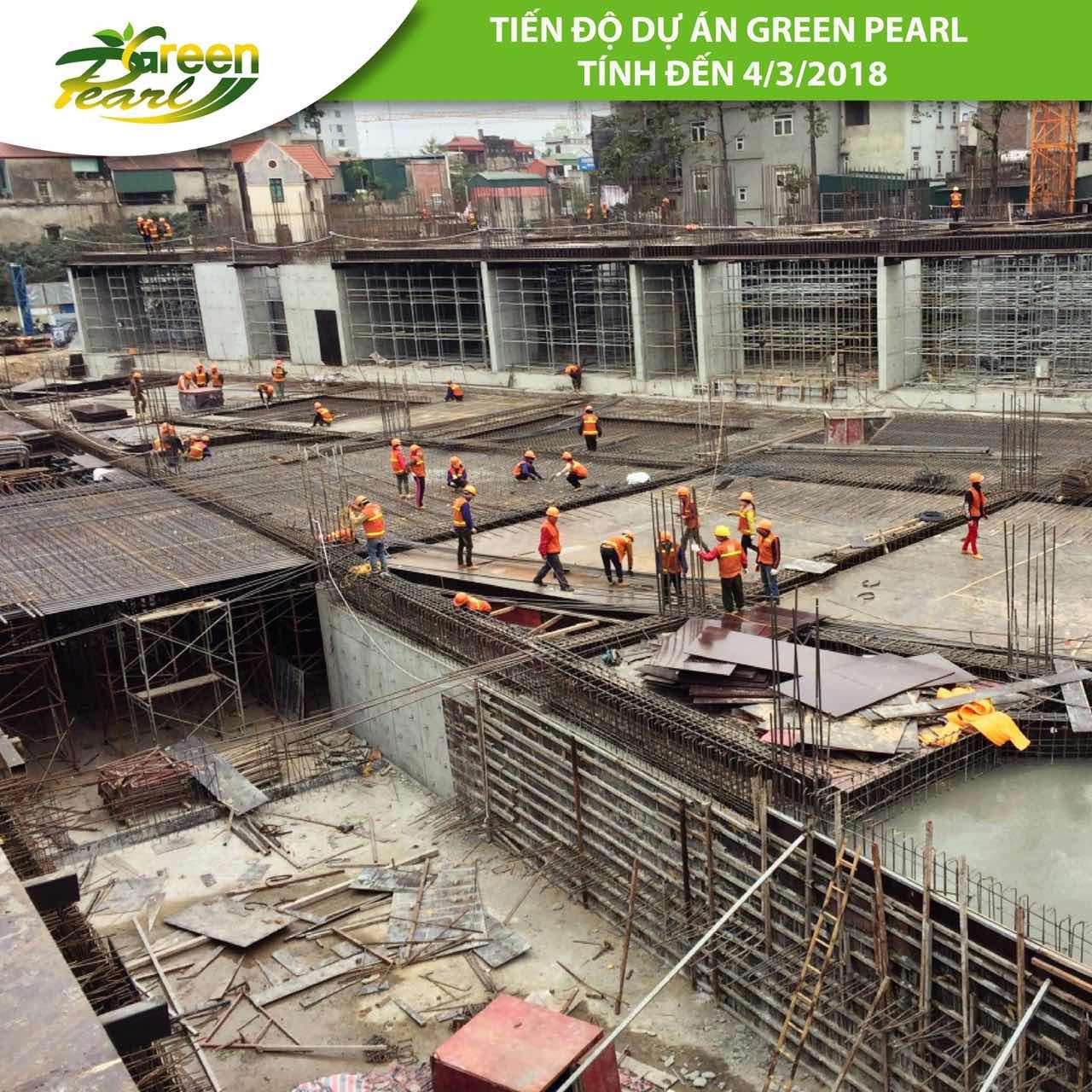 Tiến độ dự án Green Pearl 378 Minh Khai tháng 3 (5)