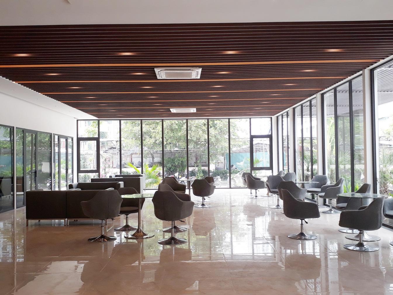 Khu văn phòng bán hàng dự án Green Pearl 378 Minh Khai
