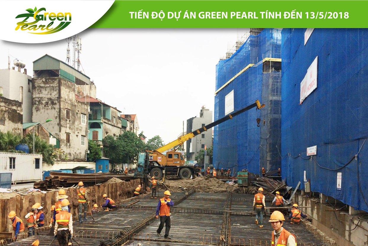 Tiến độ dự án Green Pearl đang được CĐT đảm bảo đúng tiến độ