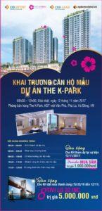 Lễ khai trương căn hộ mẫu dự án K Park Văn Phú ngày 12-11-2017
