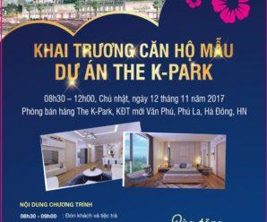 Khai trương căn hộ mẫu tại dự án K Park Văn Phú