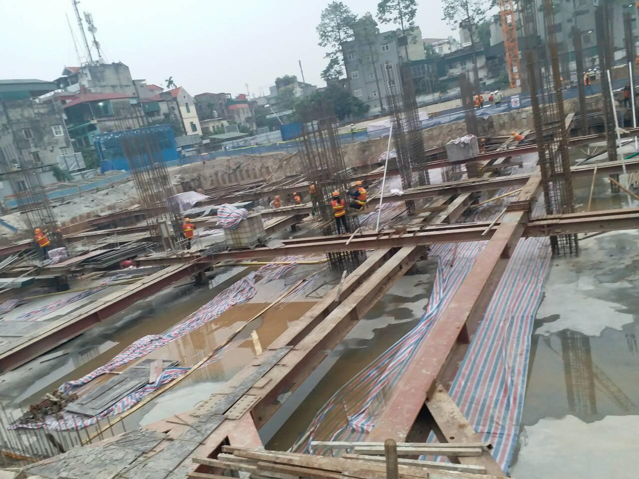 tiến độ dự án 378 minh khai tháng 12-2017