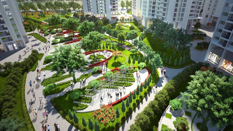 Tận hưởng cuộc sống Xanh với công viên 6 giác quan tại Hồng Hà Eco City