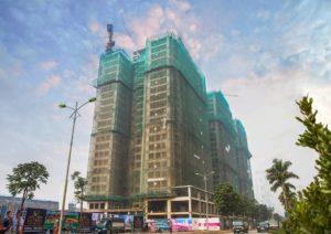 Tiến độ dự án K Park Văn Phú tháng 01-2018