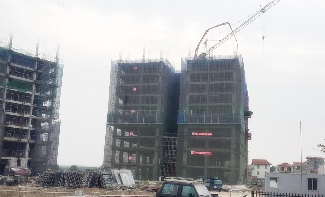 Thi công tầng 11 tòa CT1A