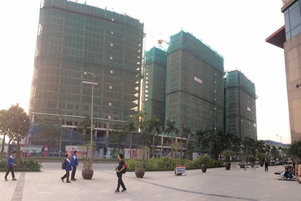 Tiến độ dự án The K Park Văn Phú tháng 02-2018