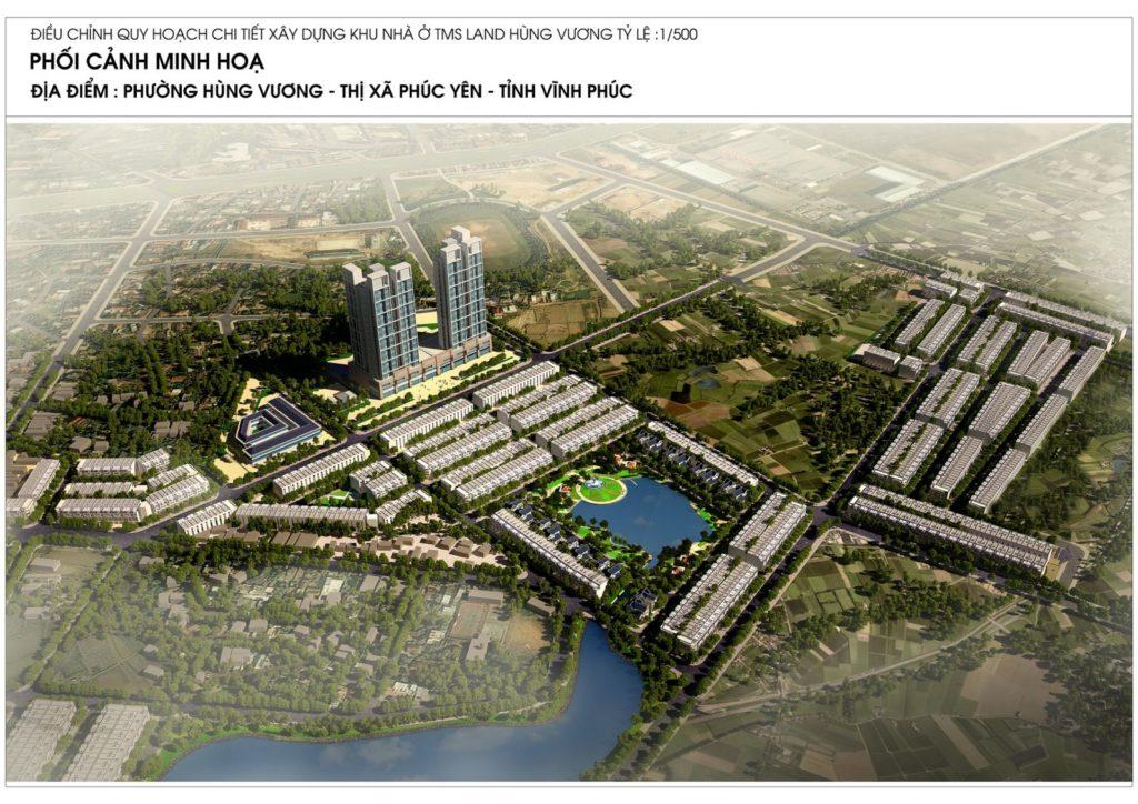 Tổng quan dự án TMS Grand City Phúc Yên