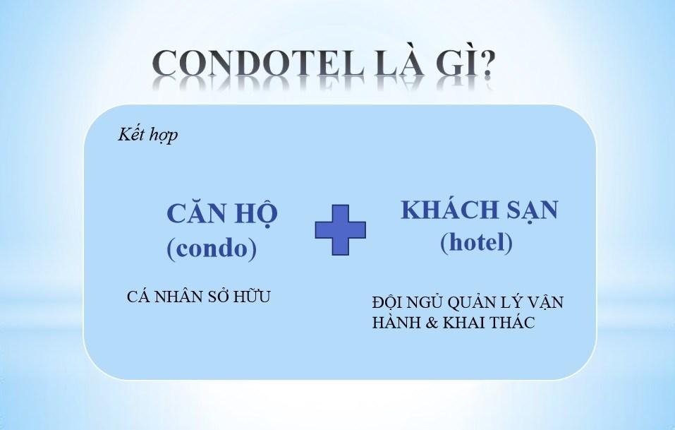 Định nghĩa căn hộ khách sạn condotel