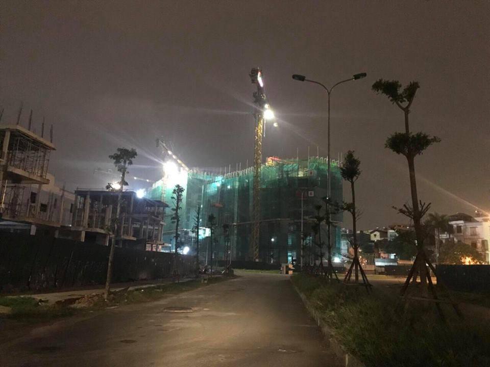 Dự án xây dựng không quản ngày đêm