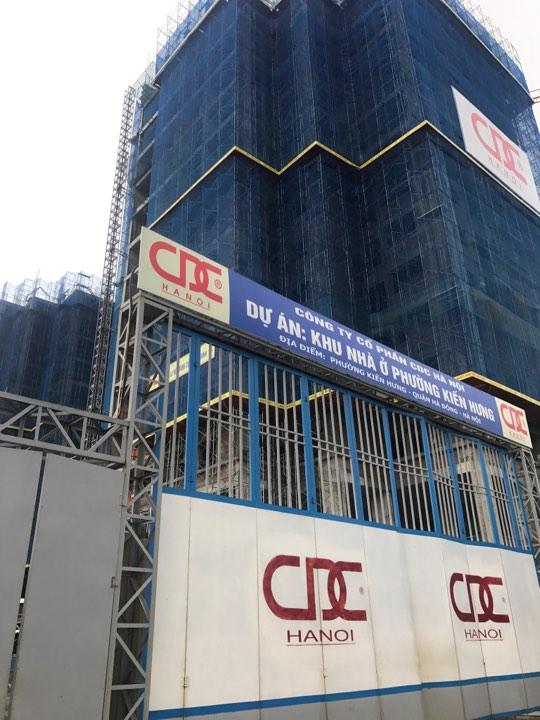 Cổng chính dự án Mipec Hà Đông
