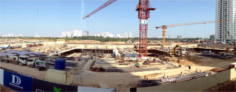 Delta- Nhà thầu thi công hầm danh tiếng luôn có mặt ở những dự án cao cấp như dự án 6th Element.