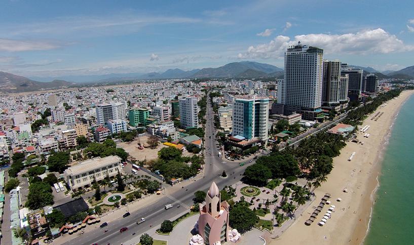 Quảng trường trung tâm thành phố Nha Trang