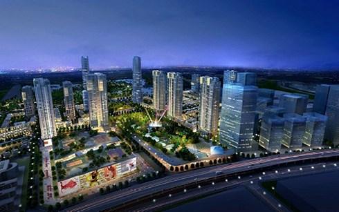 Siêu dự án The Manor Central Park của Bitexco trên mặt đường Nguyễn Xiển