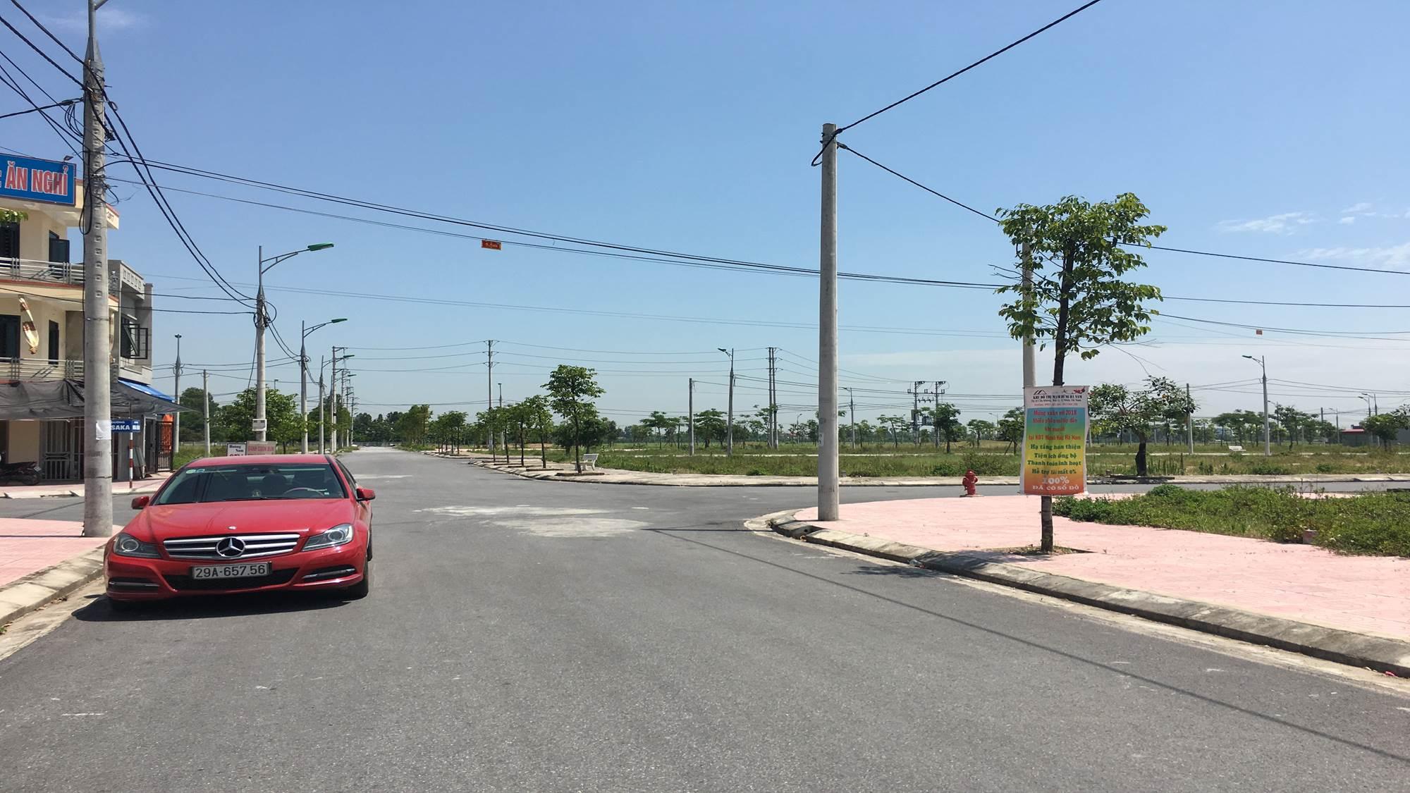 Hạ tầng và đường nội khu đã hoàn thiện