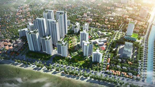 Hồng Hà Eco City với qui mô 16,7 ha được thiết kế bởi SunJin Hàn Quốc