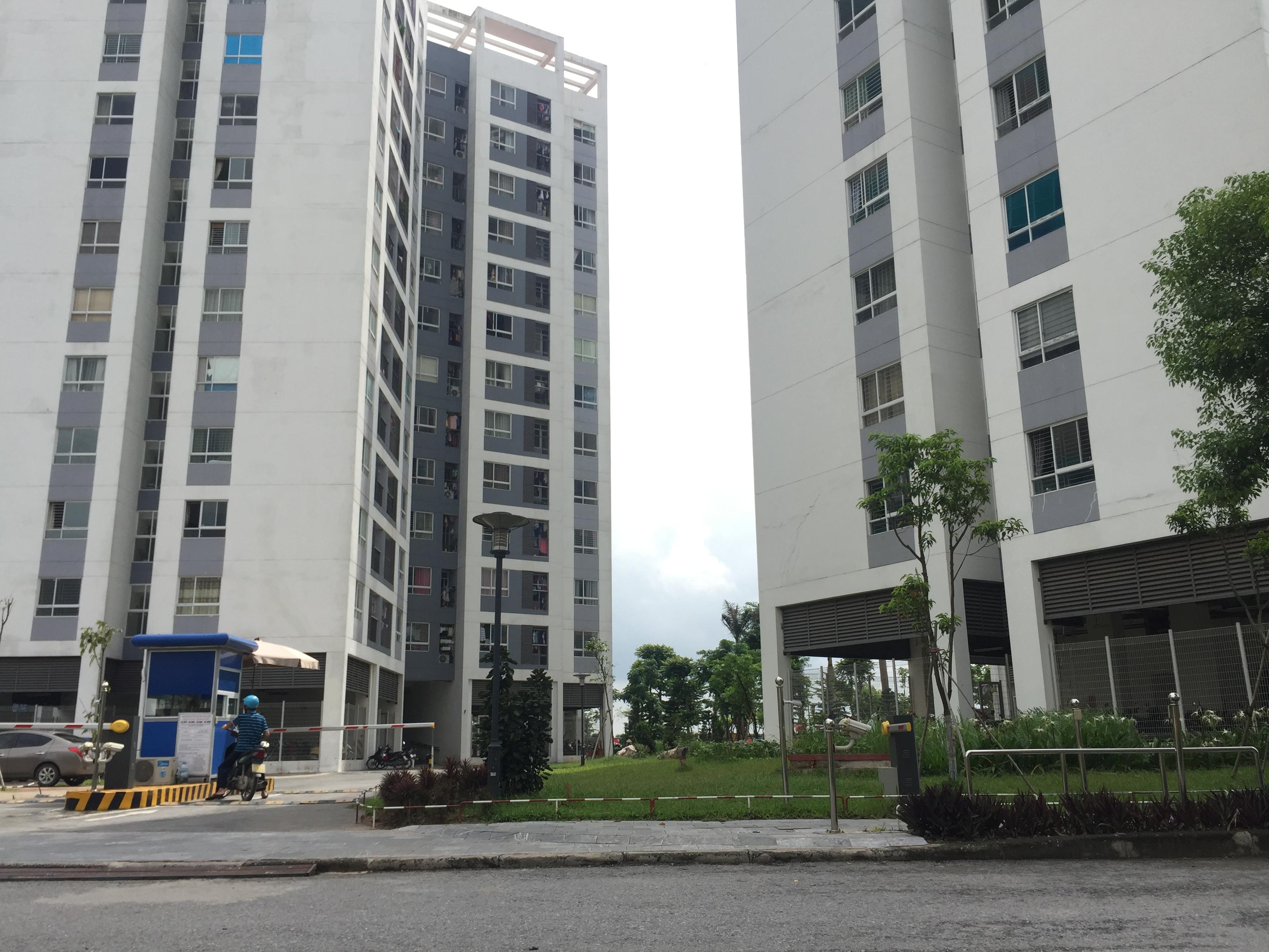 Khu tòa nhà CT15 - CT16 đã bàn giao và đưa vào sử dụng từ tháng 12 năm 2015
