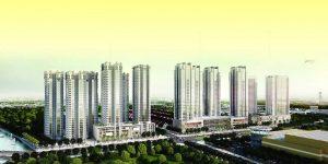 Phối cảnh tổng thể dự án Sunrise City
