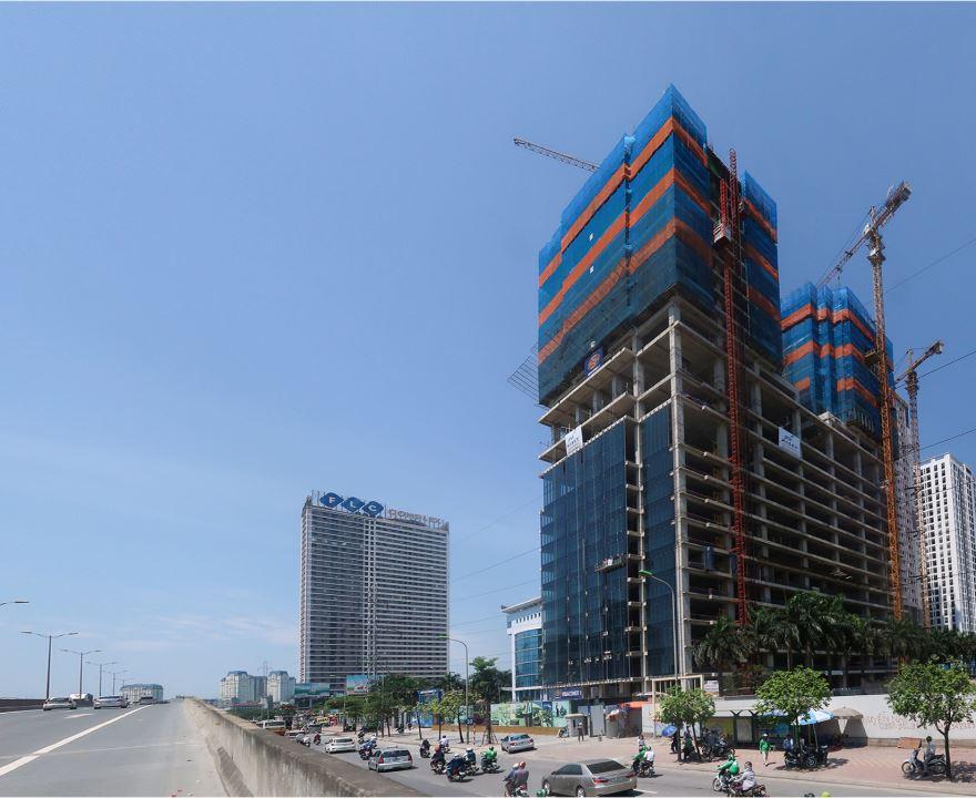Sunshine Center nằm tại số 16 đường Phạm Hùng