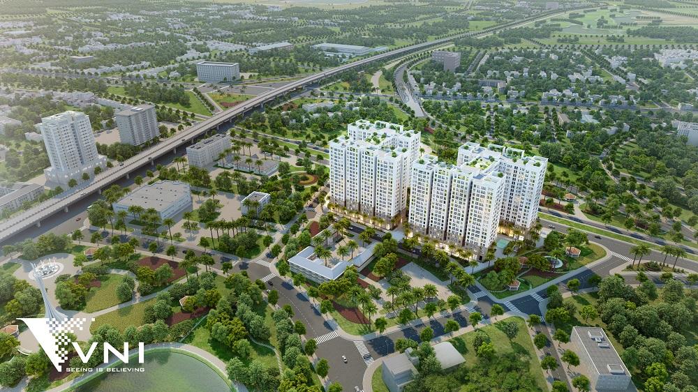 Tổng quan dự án Hà Nội Homeland Long Biên