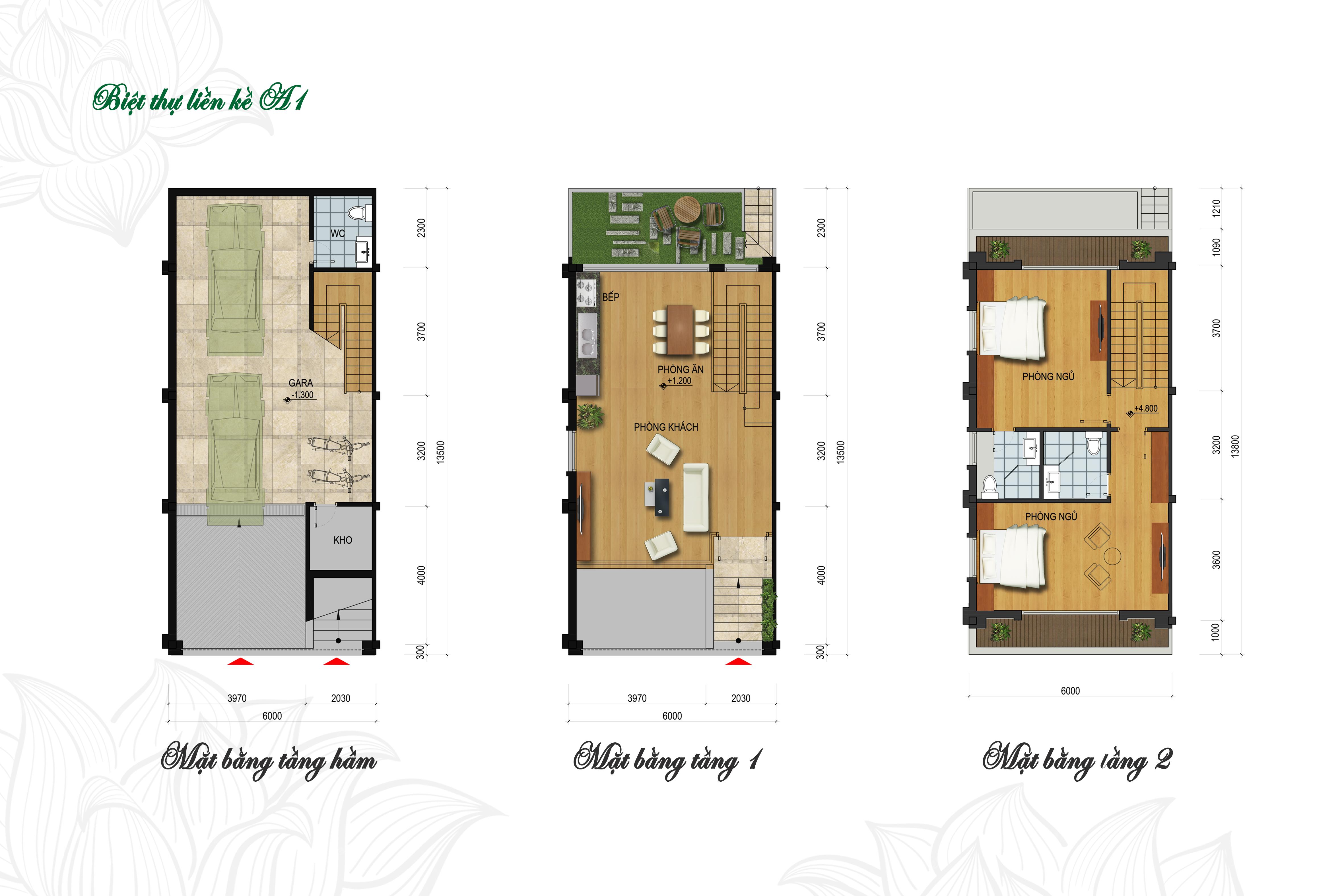 Thiết kế Liền Kề Biệt Thự Khu A