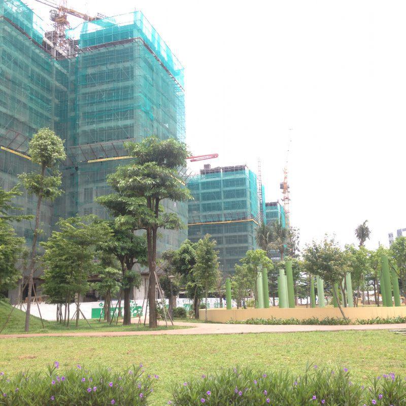 Tiến độ 3 tòa CT11 - CT12 - CT13 dự án Hồng Hà Eco City tháng 05-2018
