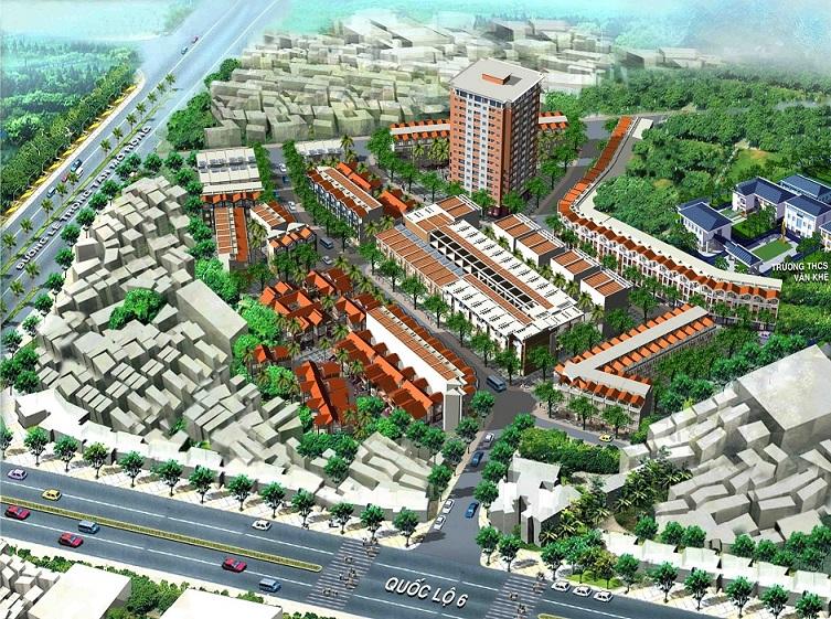 Chung cư An Lạc Hà Đông nằm trong tiểu khu đô thị Nam La Khê