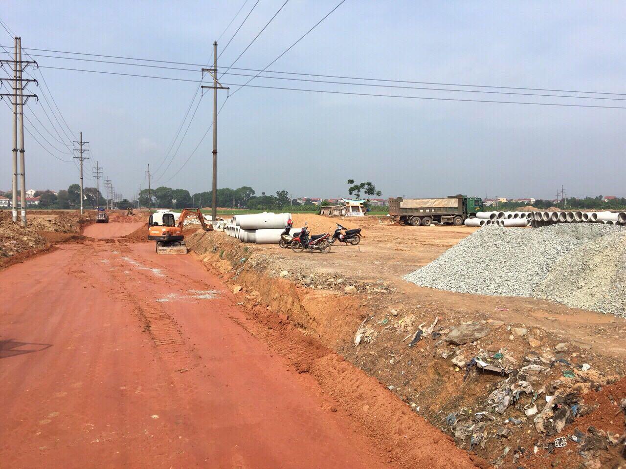 Diện mạo dự án TMS Grand City Phúc Yên đang ngày càng thay đổi rõ rệt