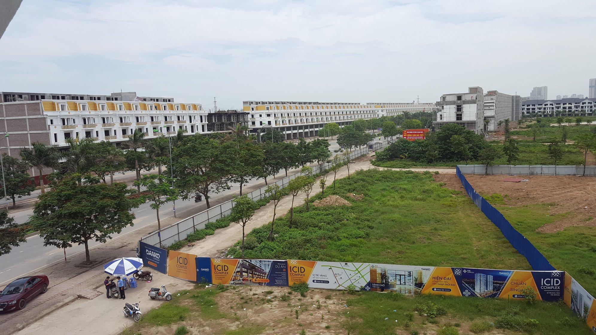 Góc view đường Lê Trọng Tấn Hà Đông
