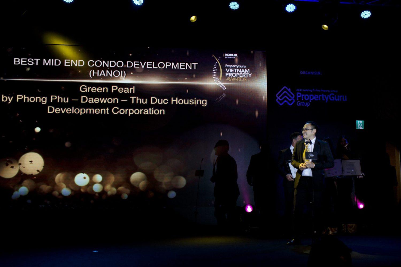 Green Pearl được vinh danh tại hạng mục Best Mid End Condo Development Hanoi