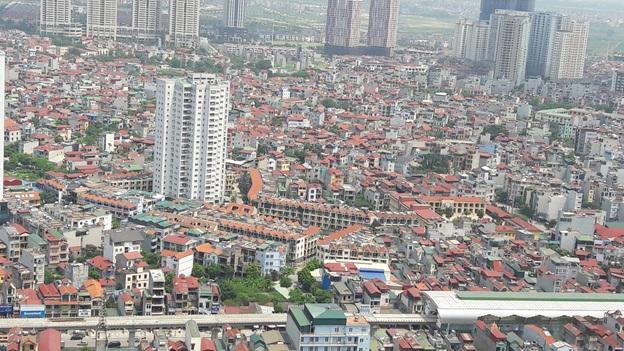 Khu đô thị Nam La Khê nhìn từ trên cao