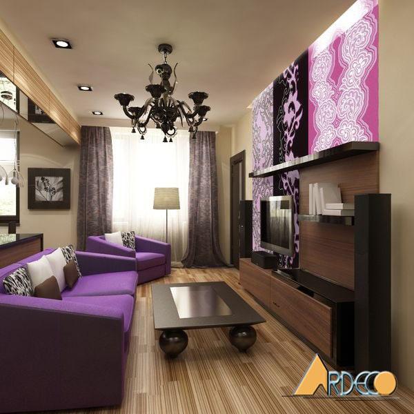 Phòng khách nhỏ đẹp