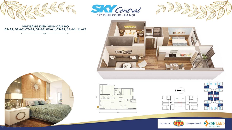 Thiết kế căn hộ Sky Central 2 ngủ 2 vệ sinh (1)