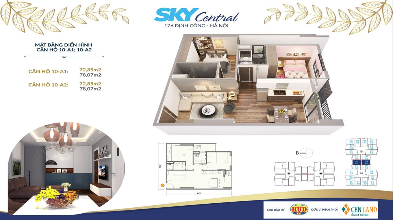 Thiết kế căn hộ Sky Central 2 ngủ 2 vệ sinh (2)