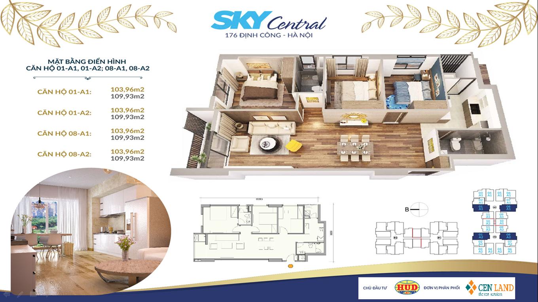 Thiết kế căn hộ Sky Central 3 ngủ 2 vệ sinh (1)