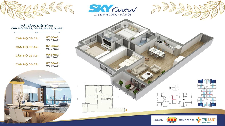 Thiết kế căn hộ Sky Central 3 ngủ 2 vệ sinh (2)